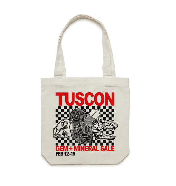 Image of  TUSCON Gem + Mineral Sale Tote