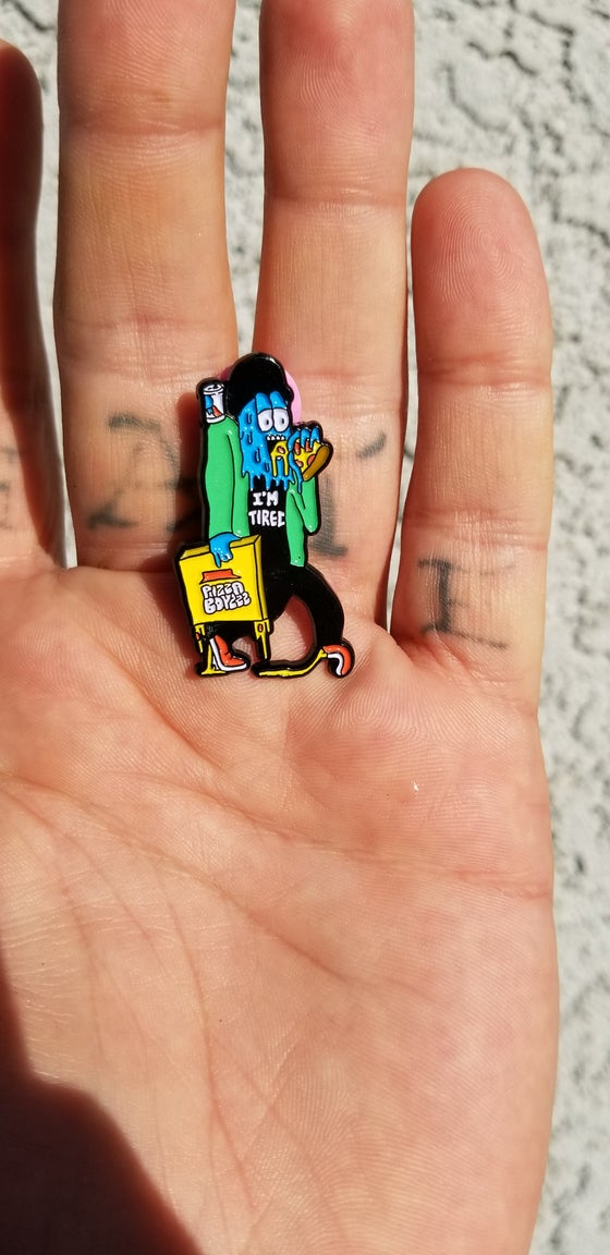 Image of PIZZABOYZZZ DELIVERY BOY PIN