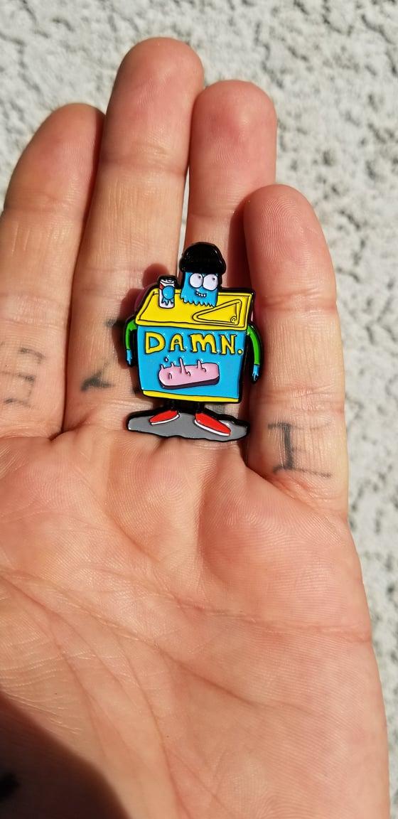 Image of GRIMEY DAMN PIN