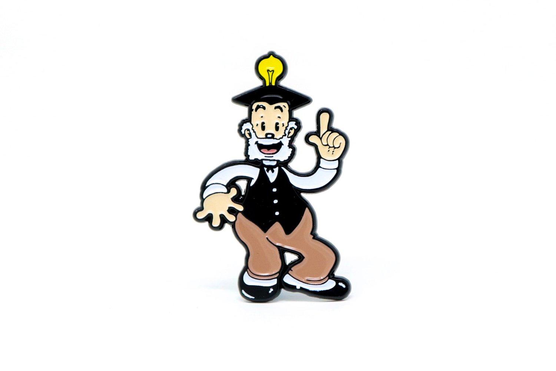 Image of Betty Boop - Grampy Enamel Pin