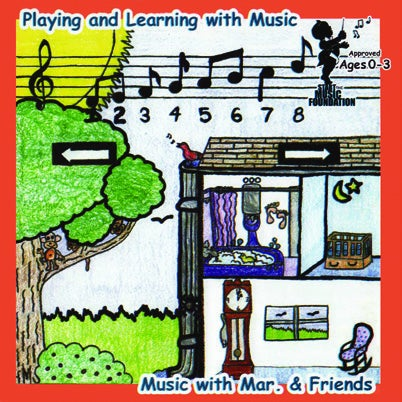 Image of Playing and Learning with Music CD