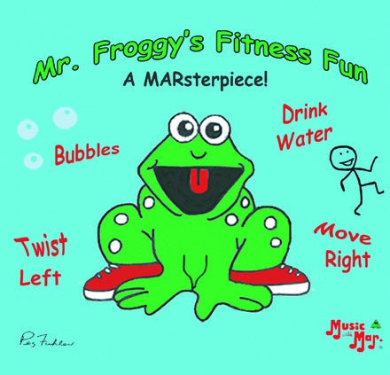 Image of Mr. Froggy's Fitness Fun CD