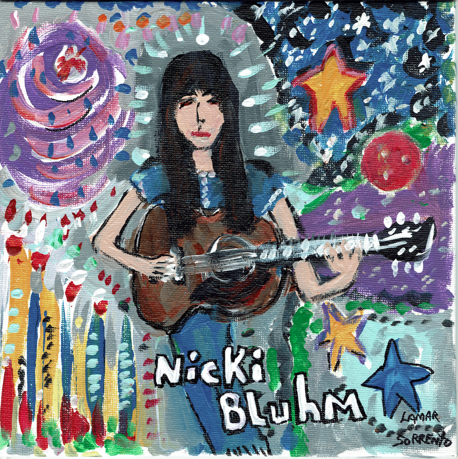 "Image of Nicki Bluhm - To Rise You Gotta Fall Side b/w Right Down The Line (Lavender 7"" single)"