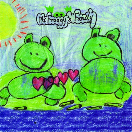 Image of Mr. Froggy's Family CD
