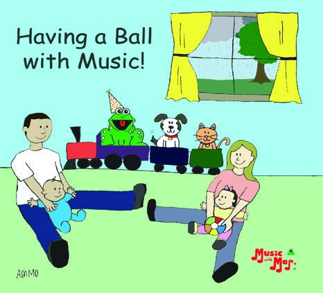 Image of Having a Ball with music CD