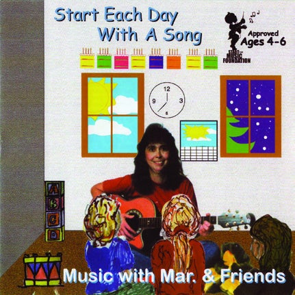 Image of Start each day with a song CD
