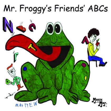 Image of Mr. Froggy's Friends' ABCs CD