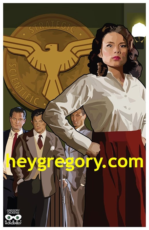 Image of Agent Carter Print