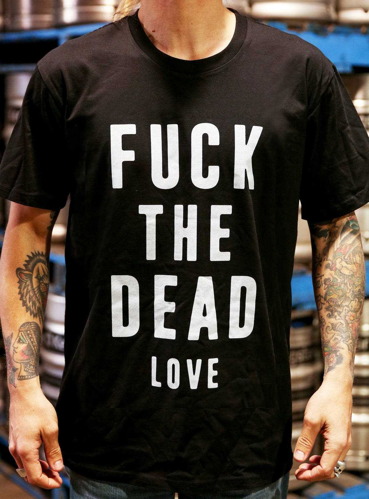 Image of FVCK THE DEAD love T (Limited press)