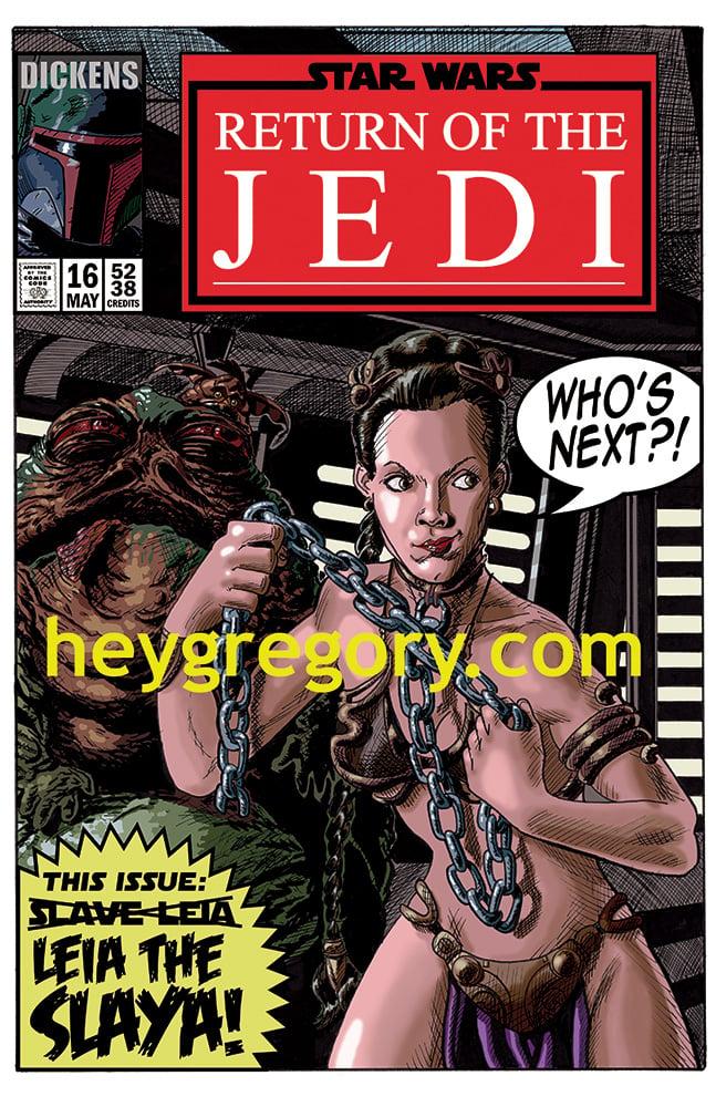 Image of Leia The Slaya Print