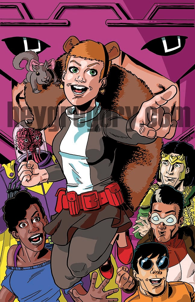 Image of Squirrel Girl Print