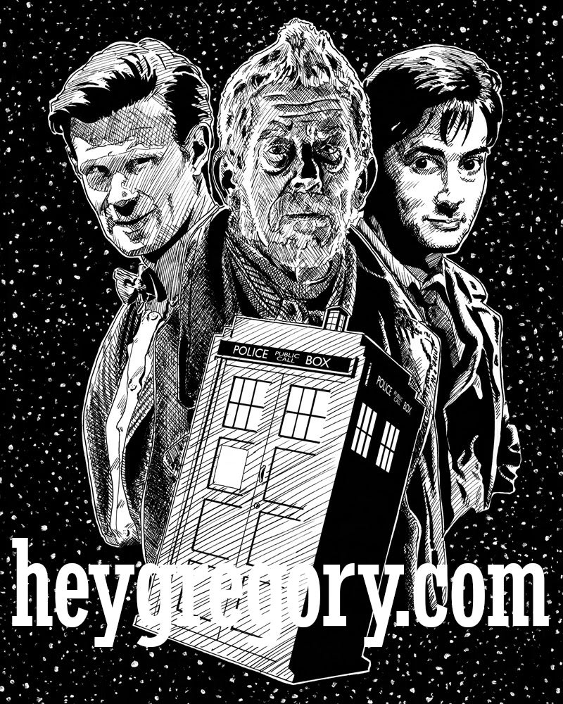 Image of Day of the Doctors Print