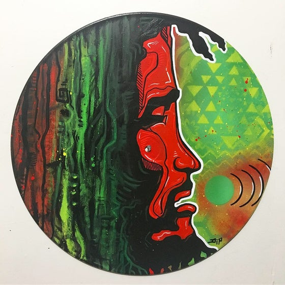 Image of Positive Vibration - Bob Marley record art