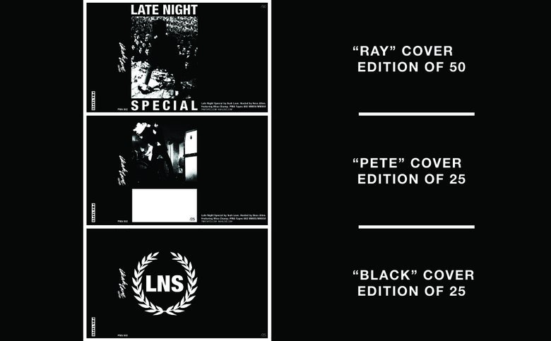 "Image of Limited Edition ""Late Night Special by Ikah Love"" Cassette Reissue"