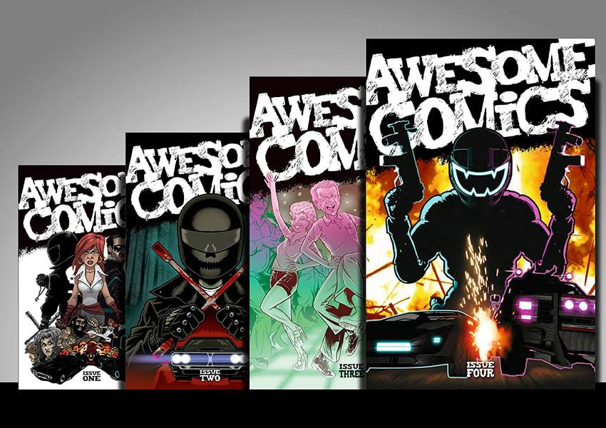 Image of Awesome Comic - PRINT