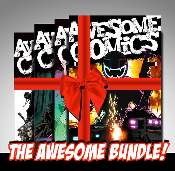 Image of Awesome Comic - PRINT BUNDLE