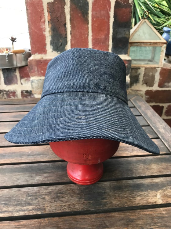 Image of Kylie Jane bucket hat - denim