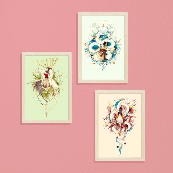Image of LA MIRADA colección de láminas