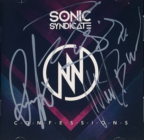 Image of Sonic Syndicate - Confessions (Signed Jewelcase CD)