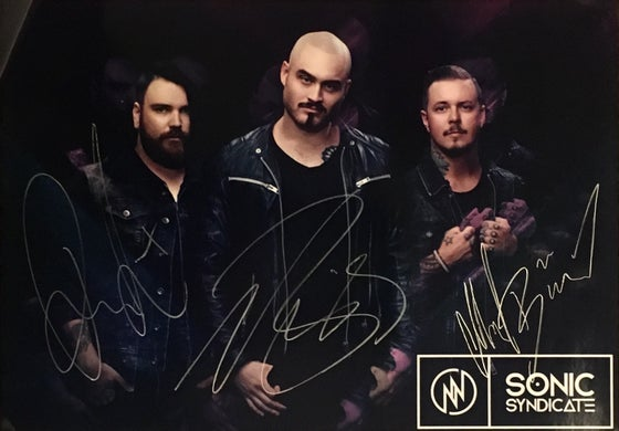 Image of Sonic Syndicate - Confessions (Signed Poster)