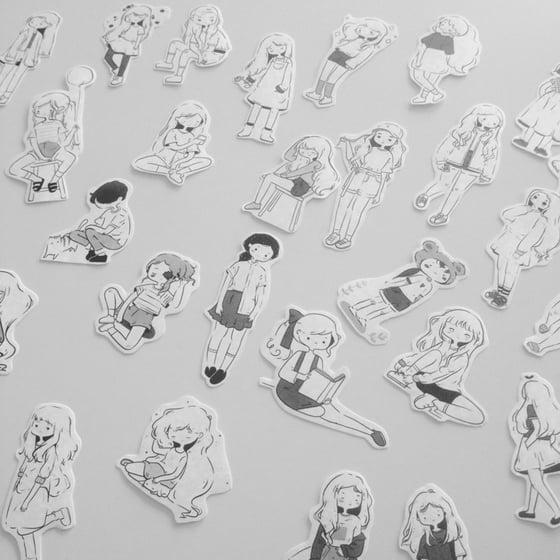 Image of Stickers • Inktober 2017