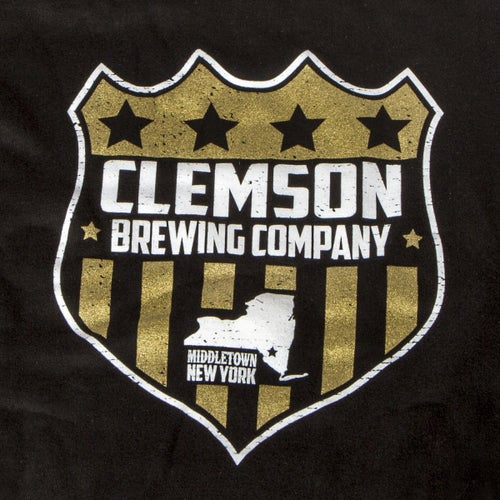 Image of Clemson Brewing Co. Hoodie with Beer Can Pocket