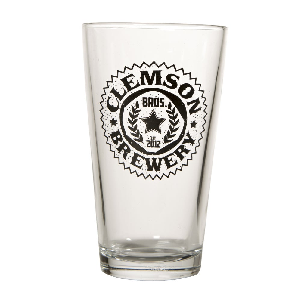 Image of Clemson Bros. Brewery Pint Glass