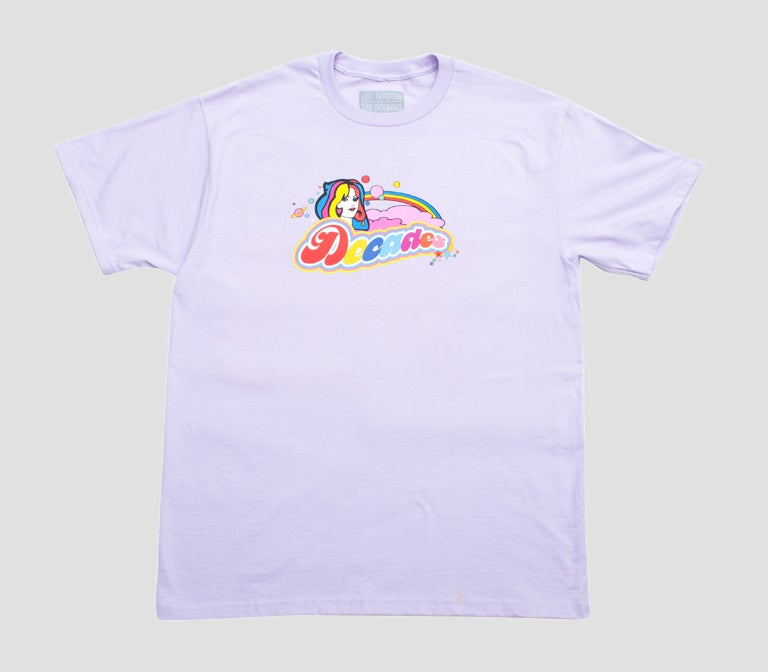 Image of Cosmic Girl Tee Lilac