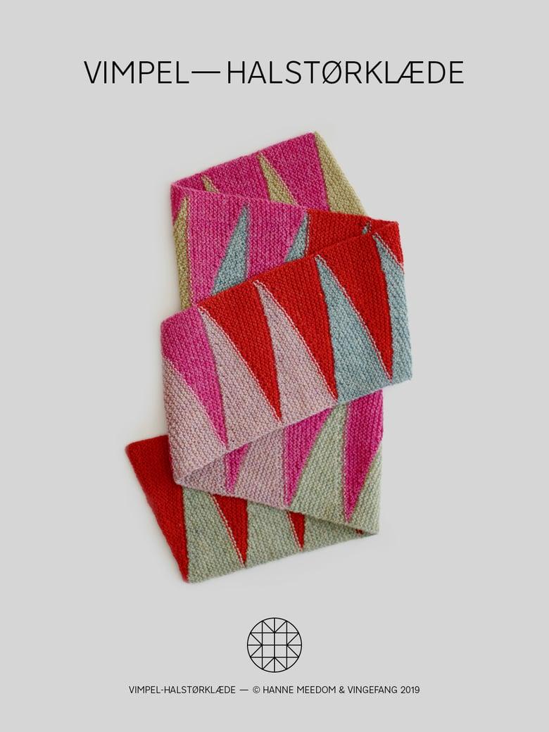 Image of Opskrift / vimpel—halstørklæde