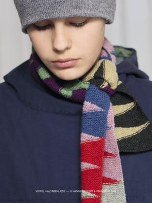 Opskrift / vimpel—halstørklæde