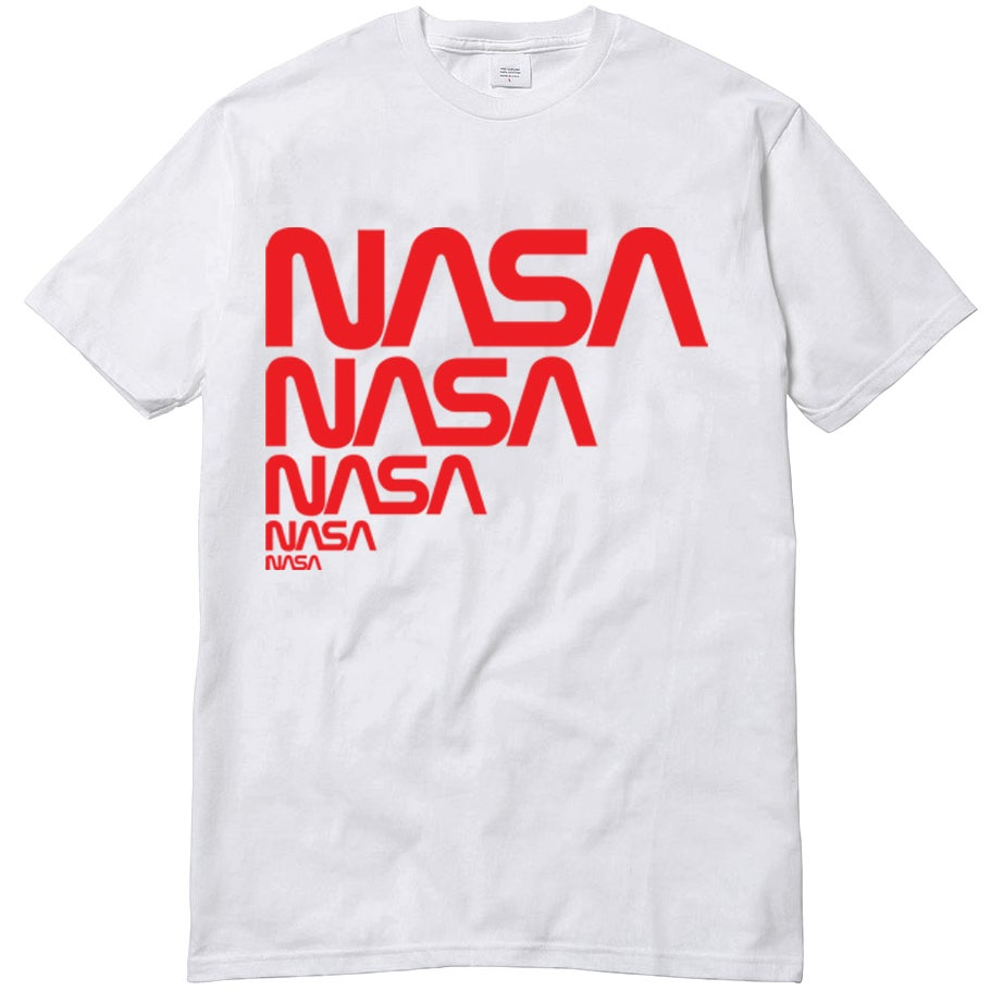 Image of NASA repeating WORM tee by SCOTTO