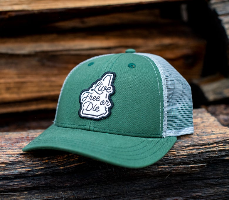 Image of Green/Grey LFOD Cursive Hat