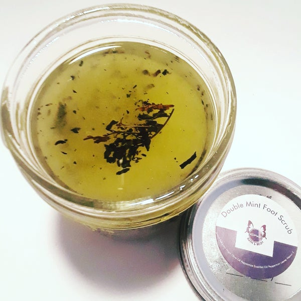 Image of Double Mint Foot Scrub