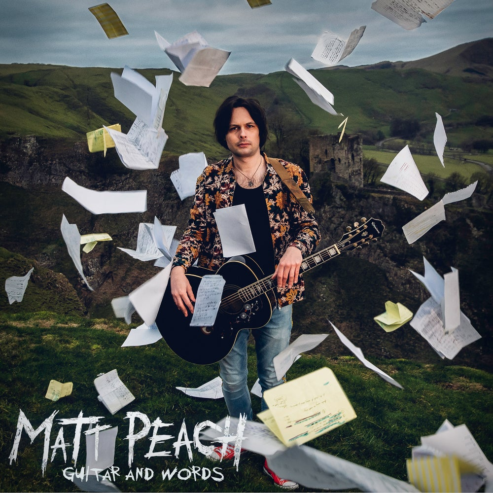 Image of Matt Peach - Guitar And Words - CD (Acoustic Compilation)