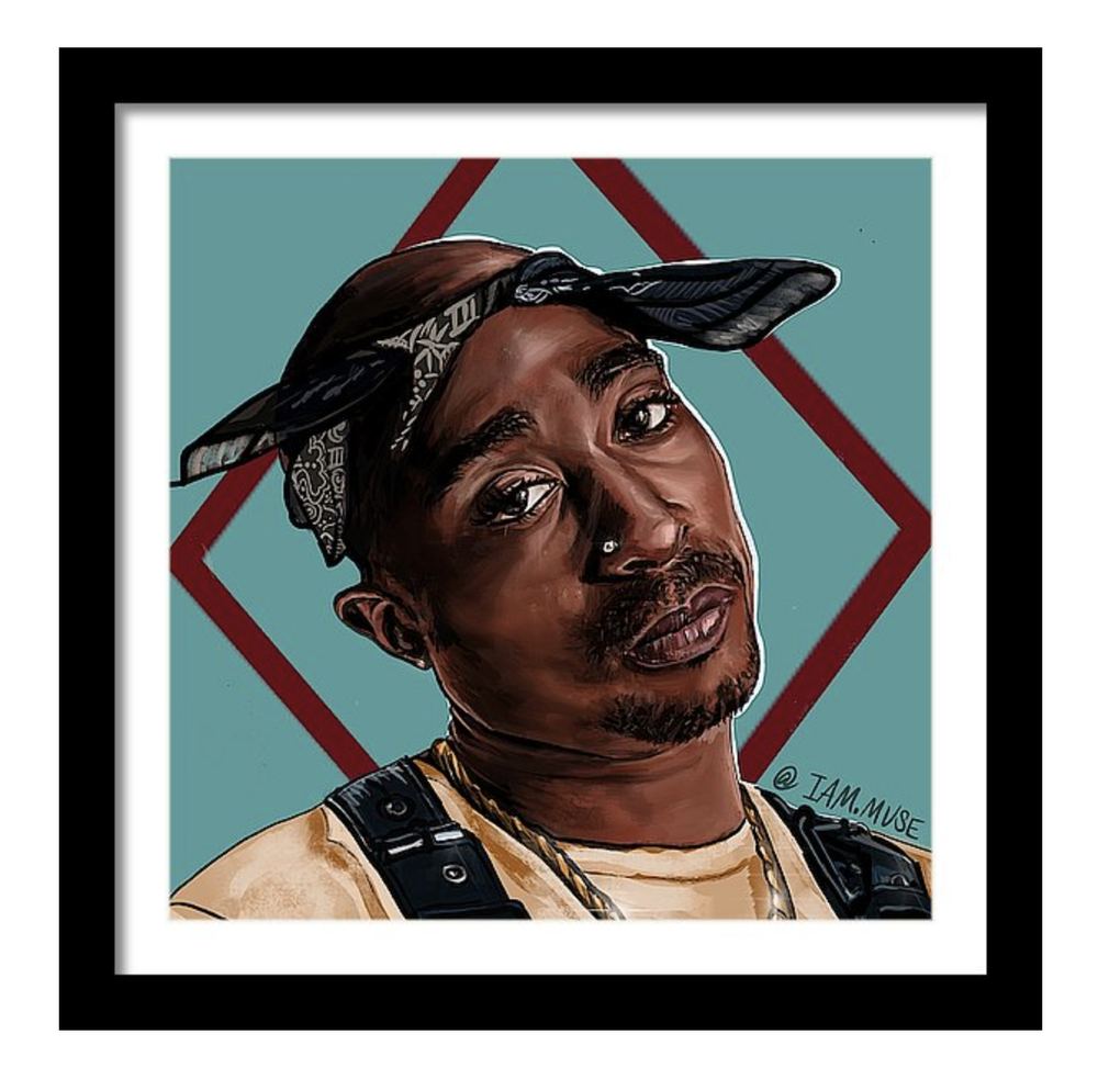 "Image of ""Tupac Shakur"" Limited Edition Prints"
