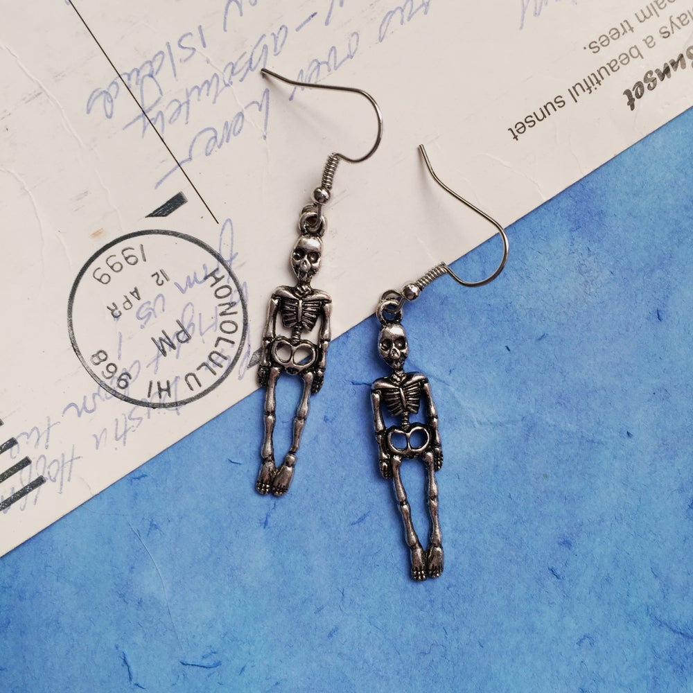 Image of LIL SKELETON EARRINGS