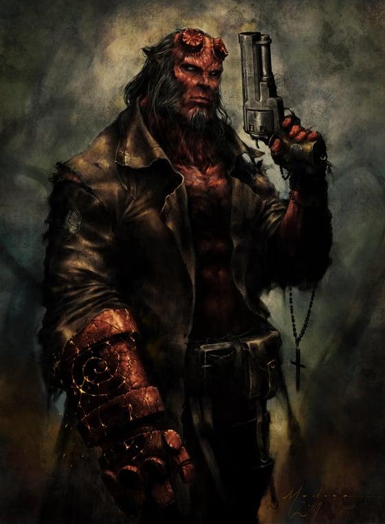 Image of Hellboy (Color)