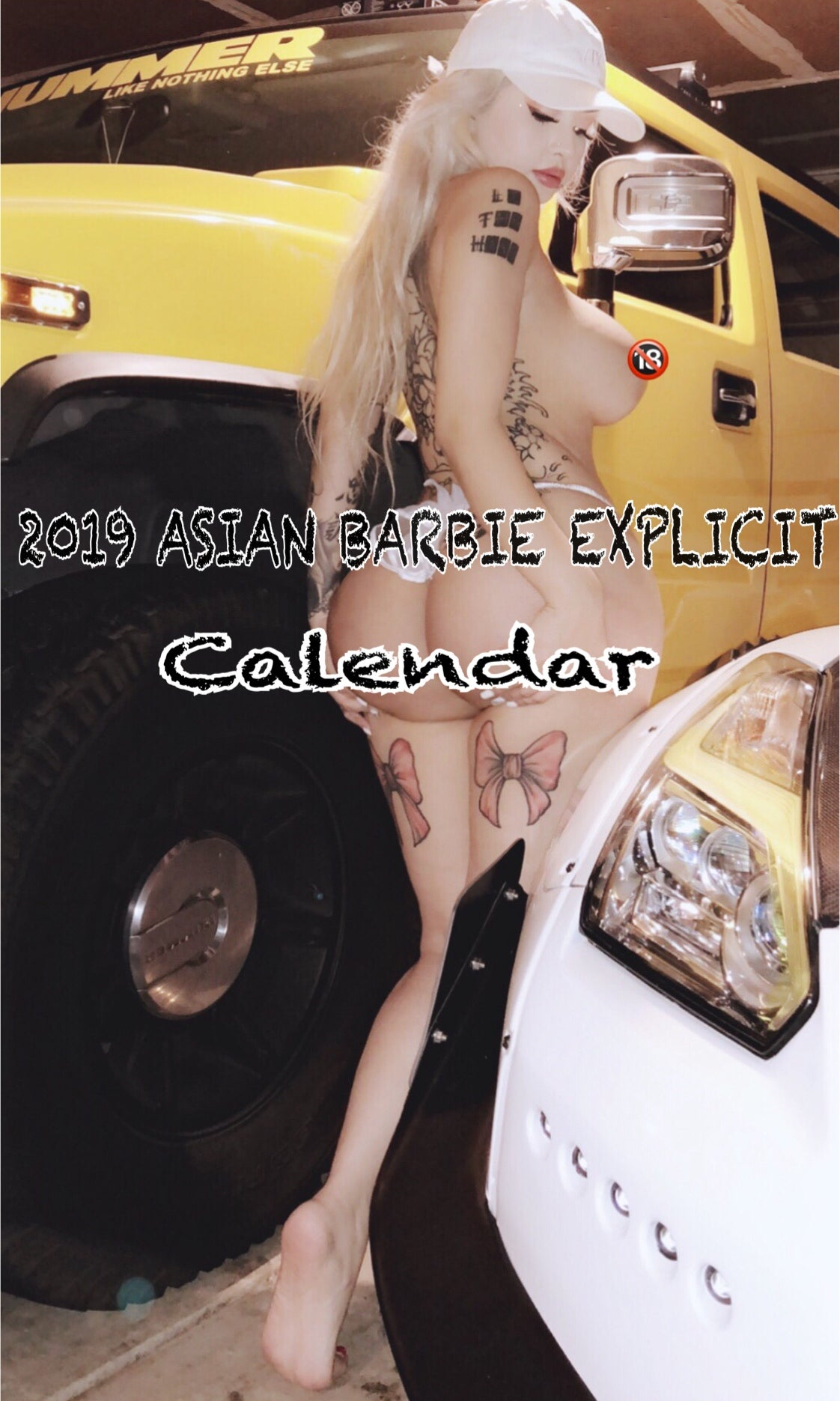 Image of UNCENSORED EXPLICIT CALENDAR