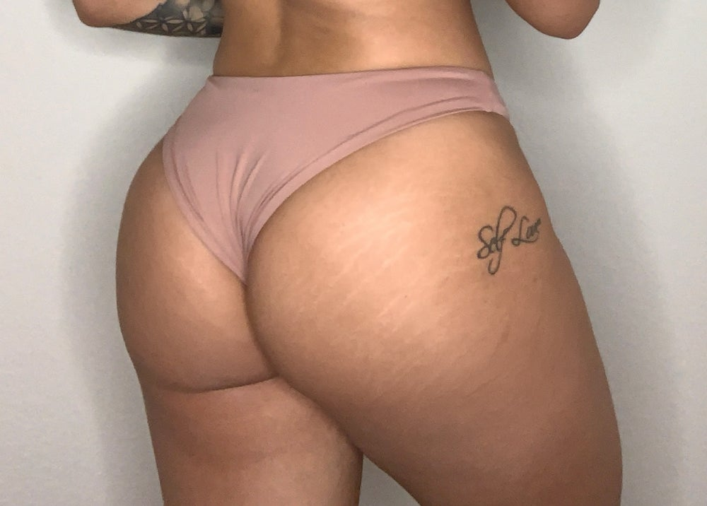 Rosedawn Seamless Cheeky Hi Leg Bottom