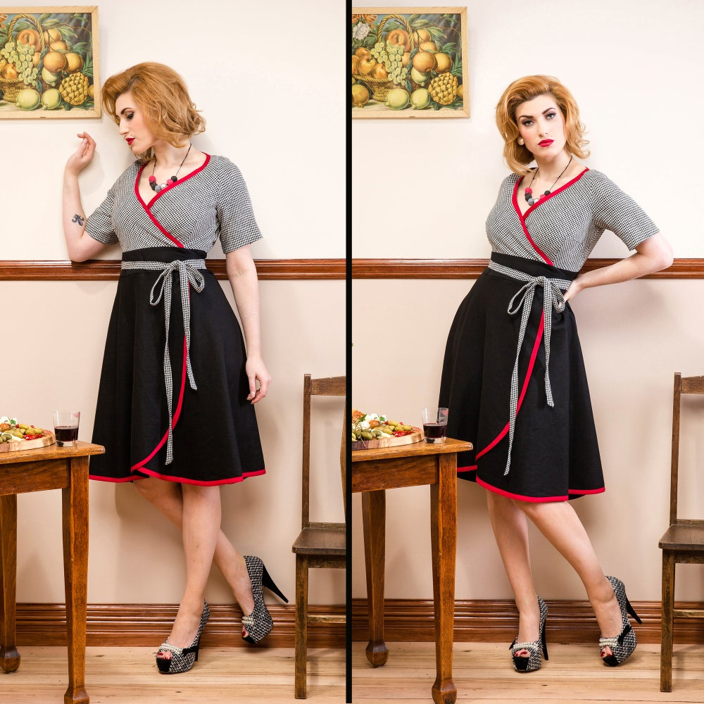 Image of LA STRADA LINEN DRESS (other options available)