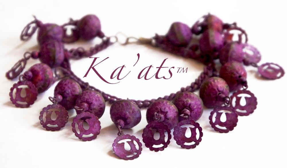 Image of Purple Orb Collar