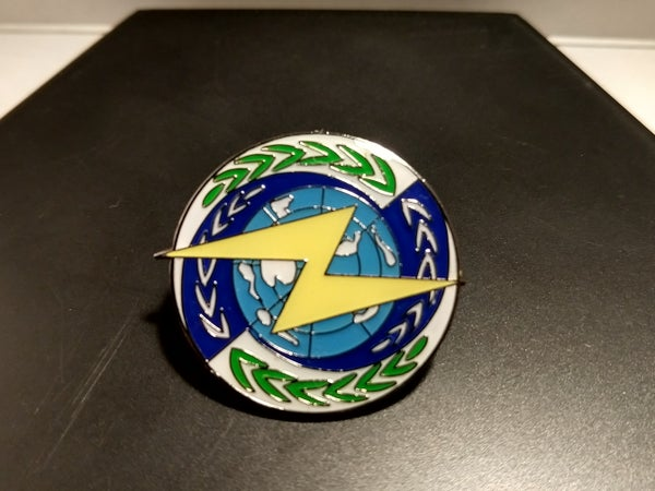 Image of Zoids Helic Republic Enamel Pin
