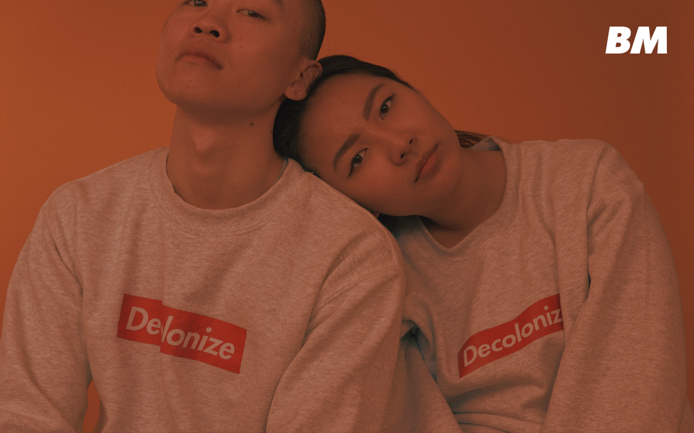 Image of DECOLONIZE SWEATER (WHITE)