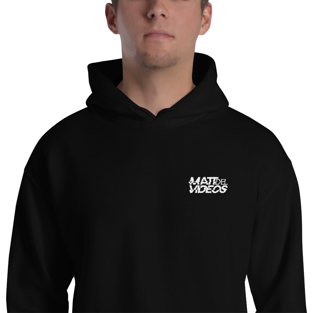 Image of MDV - Embroidered Hoodie - Super Warm (Black or Red)