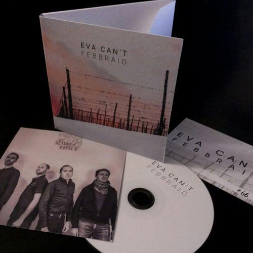 "Image of EVA CAN'T ""Febbraio"" CD box"