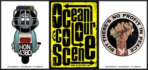 Image of Scooter - Ocean Colour Scene - Shine On 18 - A3
