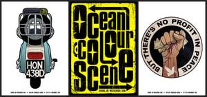 Image of Peace - Ocean Colour Scene - Shine On 18 - A3