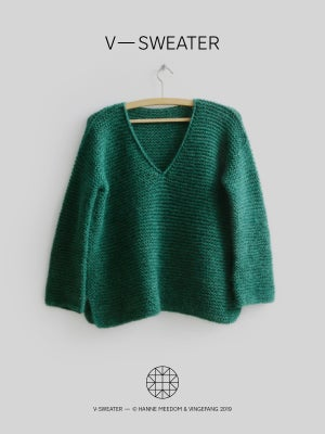 Opskrift / v—sweater