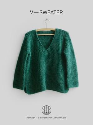 Image of Opskrift / v—sweater