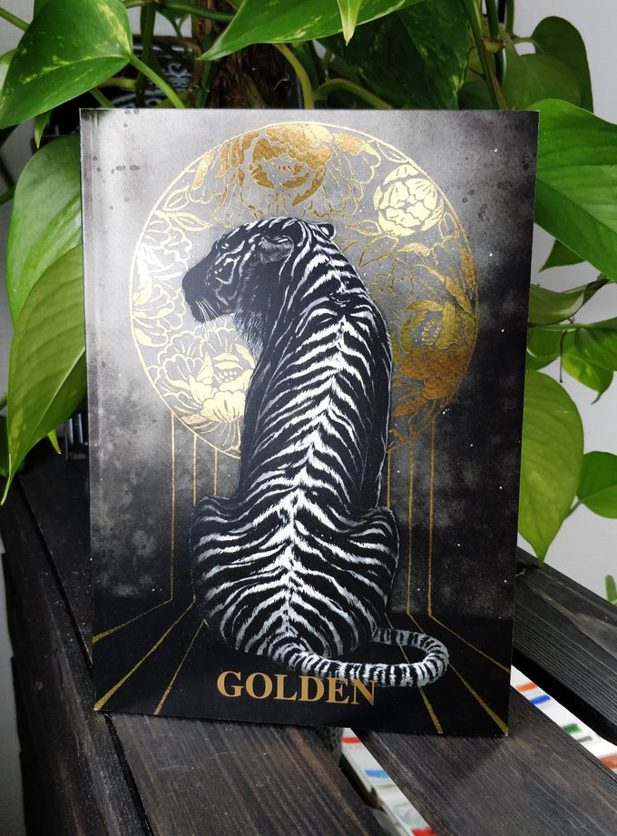 Image of GOLDEN Artbook